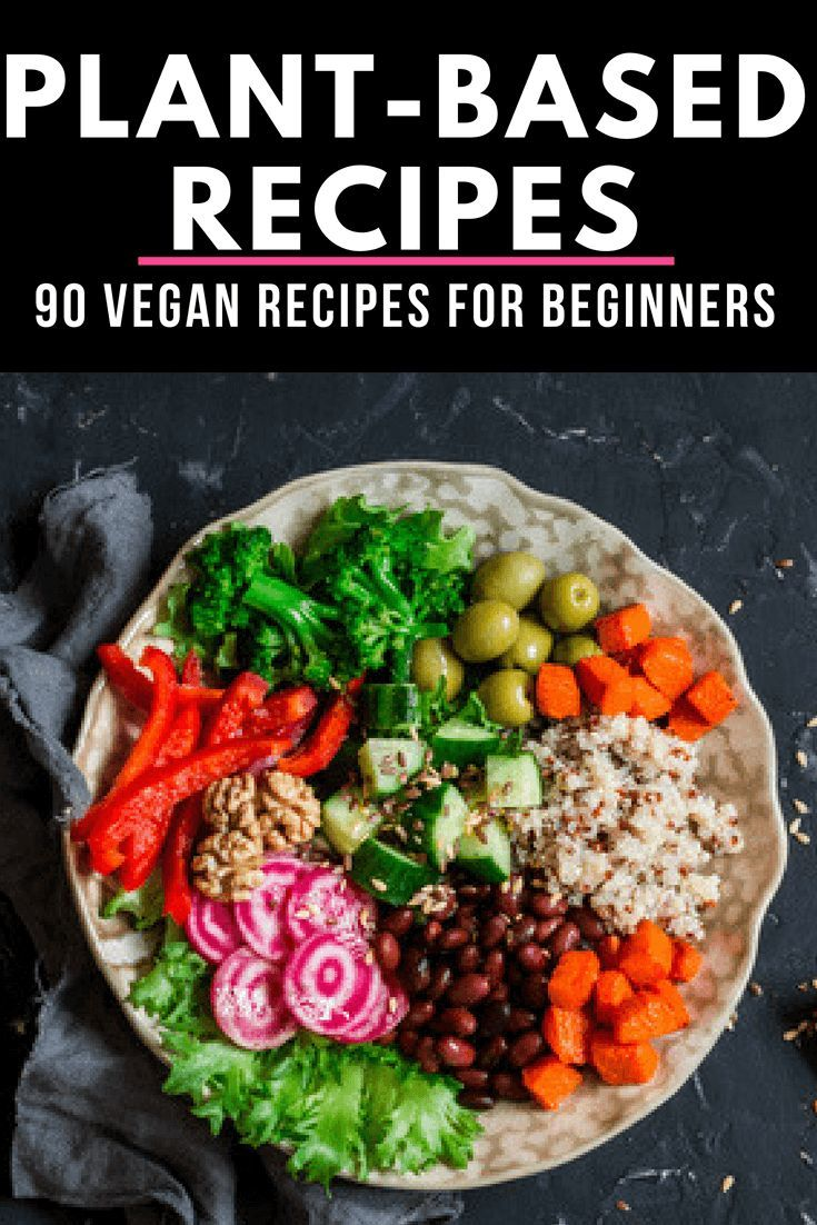 Plant Based Diet Meal Plan For Beginners 90 Plant Based Recipes Plant Based Diet Meal Plan Vegan Recipes Beginner Plant Based Diet Meals
