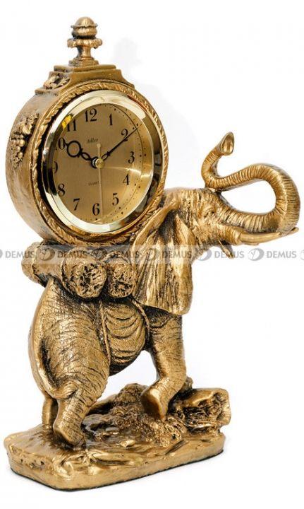 #Zegar kominkowy figurka Słoń #Adler #80010-G-PL