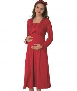 Saç bandı hediyeli hamile-lohusa gecelik ve sabahlıklar  #lohusagecelik #gebegiyim #hamilegecelik #hamilegiyim