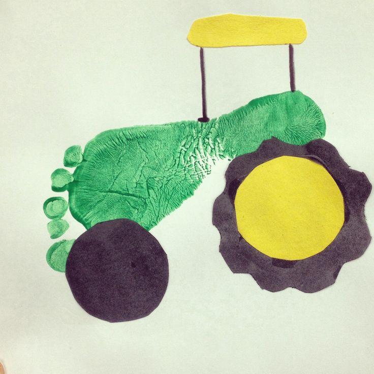 Fiúk álma traktor lábból