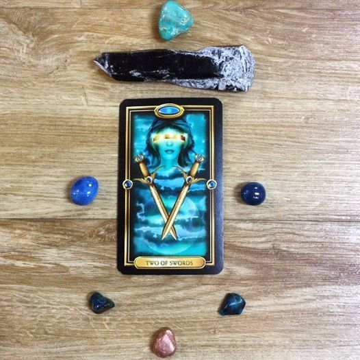 October 8th, 2016 Today's card is the Two of Swords. The two of swords often appears when there is an important decision to be made, yet you are unwilling or unable to make such a decision at this time. Make sure you remove any rose coloured glasses before weighing the pros and cons of a situation this week.