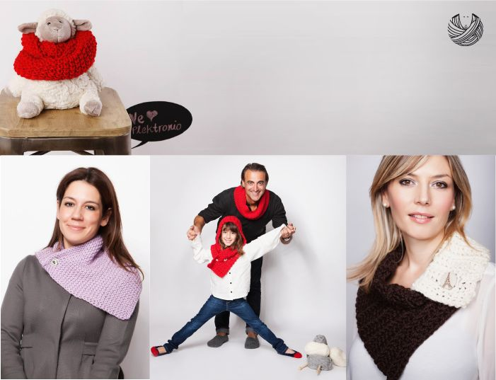 Wrap yourself in our chic and warm cowls! http://www.indiegogo.com/projects/plektronio/x/4721624