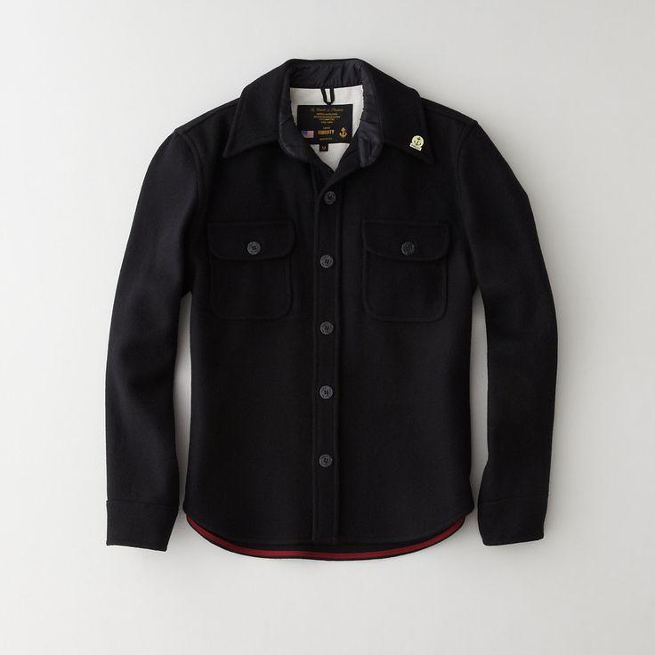 Fidelity Sportswear Wool USN CPO Jacket | Men's Outerwear ...