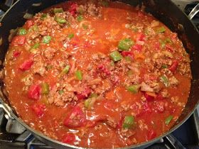 The Paleo Network: Whole30 - Day 25, Weekly Meal Plan and My Basic Paleo Chili
