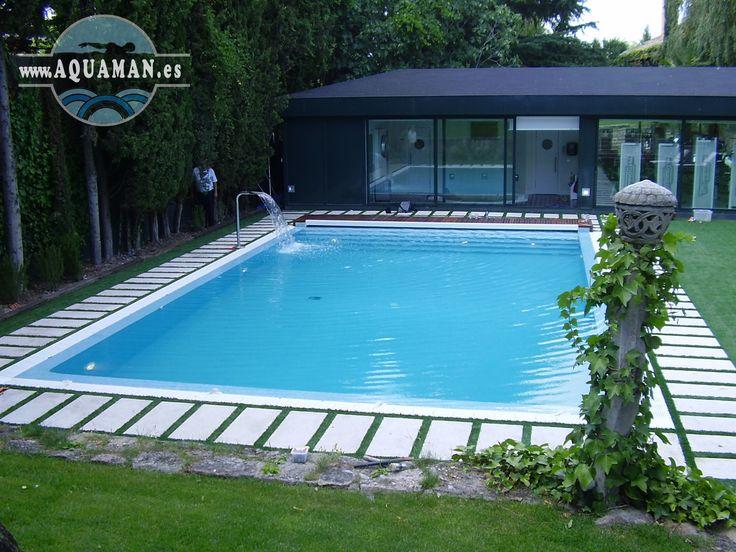Vista general de la piscina.