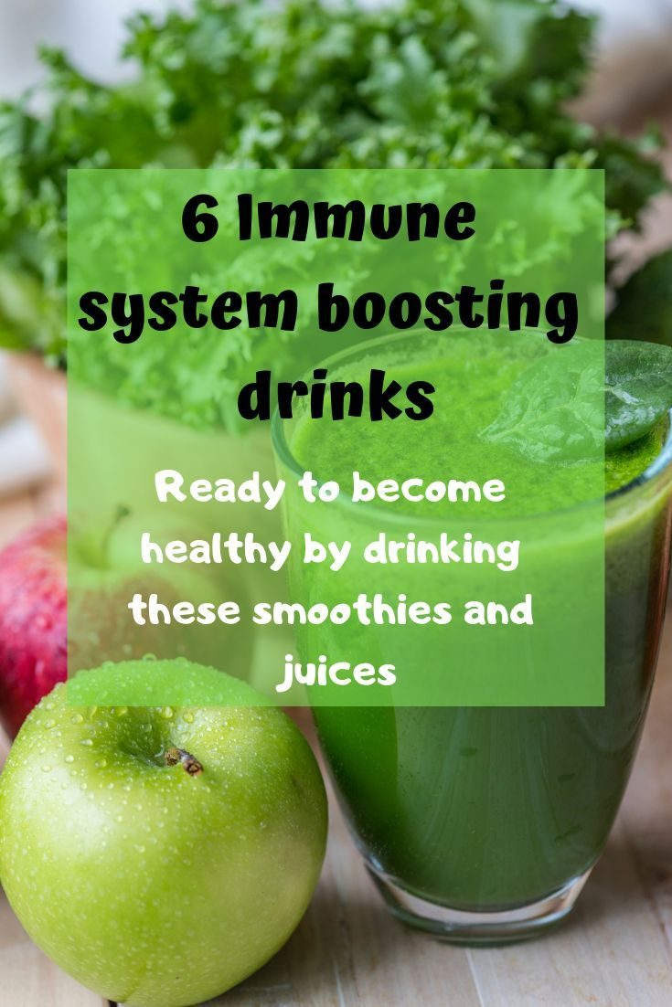 Immune boosting smoothie health
