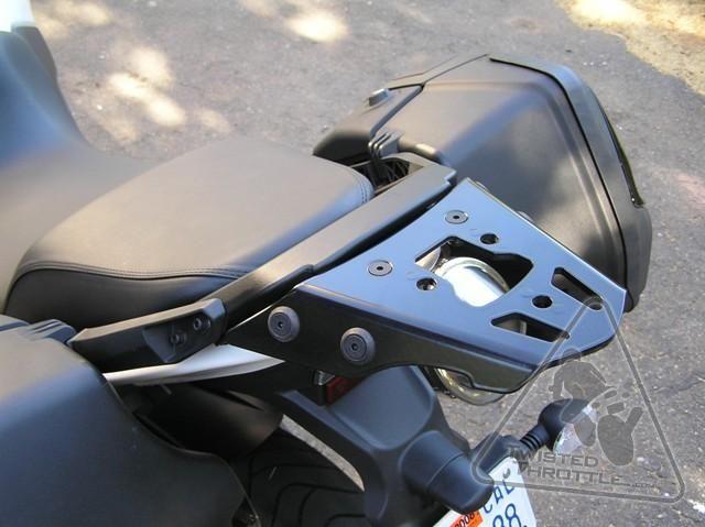 SW-MOTECH Alu-Rack Toprack to fit TraX, Givi