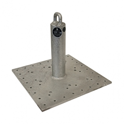 Roof Anchor Universal Base Plate With Durable Galvanized