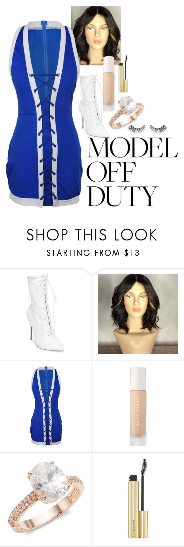 """""""Untitled #1244"""" by lola-guadalupe-delgado ❤ liked on Polyvore featuring Steve Madden, WithChic, Puma and Saks Fifth Avenue"""