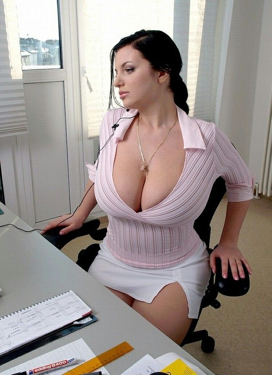 Sexy tits office