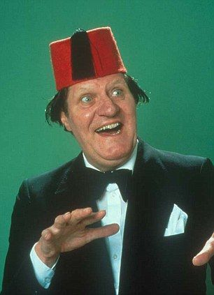 Vote reveals the 50 funniest one-liners ever British humour as strong as ever with scores of comics in top 50 Peter Kay has won the crown of 'funniest one-liner' ever with clogs' gag The legendary Tommy Cooper still a favourite taking places two and three There were surprise entries for Steve Martin and Rowan Atkinson