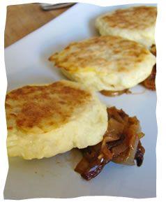 Caramelized Onion Potato Croquettes