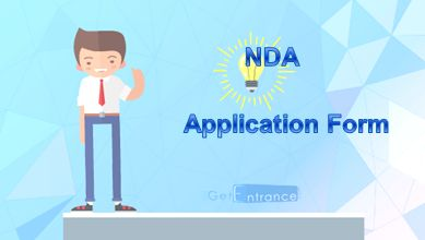 NDA 2017 Application Form, How to Register for the NDA Application Form 2017, students need to fill required information for the NDA 2017 Application Form