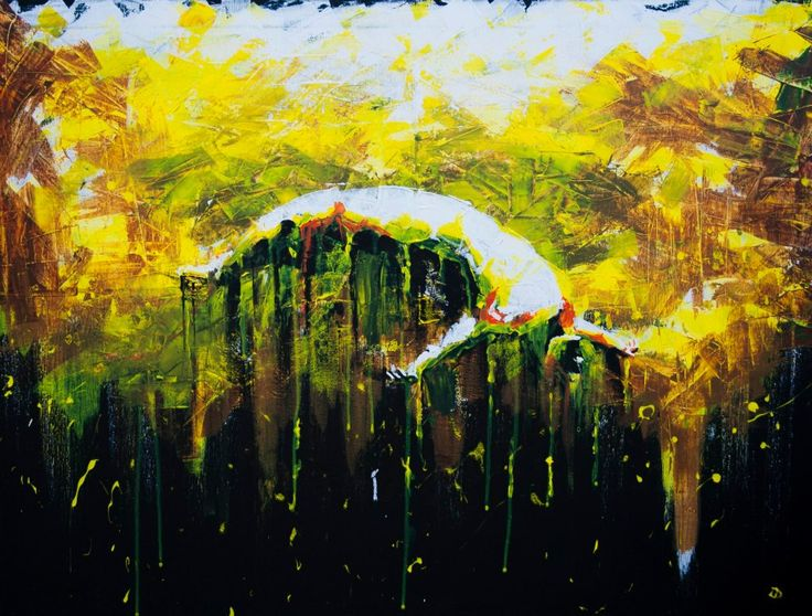 (Inside IV) Road to Awe - Acrylic on canvas (60 x 80cm)