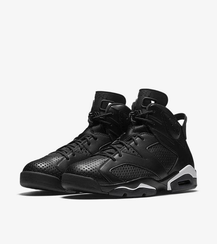 Buy Nike Air Jordan 6 Retro Black Cat White Men Girl Boy Youth Size Shoes  at online store