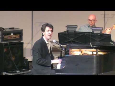 "Jason Robert Brown singing Jason Robert Brown. Is there a better thing on earth. ""King of the World"""