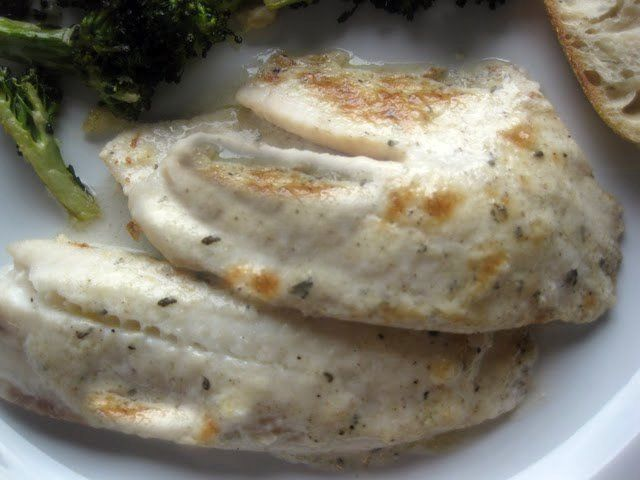 Simply Scratch » Broiled Tilapia Parmesan. This is soooo yummy! I ...