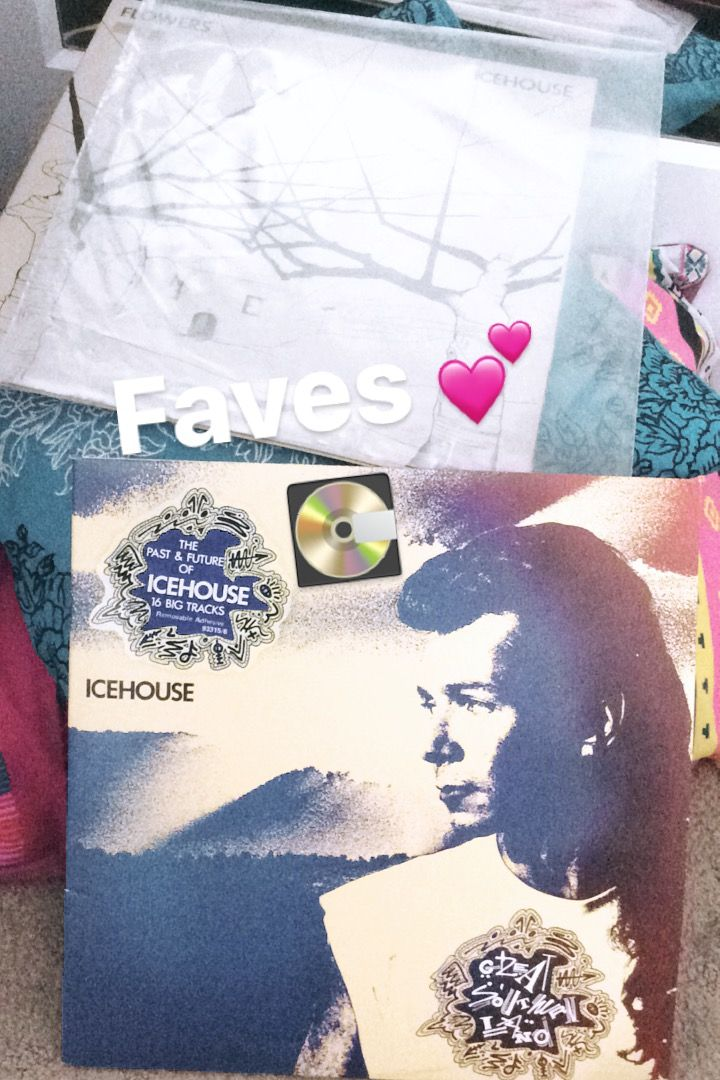 Great Southern Land 2LP and Flowers - Icehouse