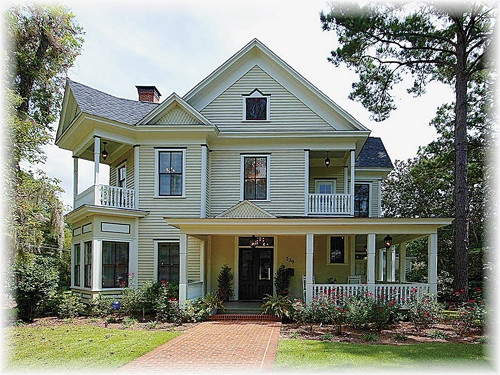May House 1893 Victorian Historic District Quincy Florida Wrap Around Porch