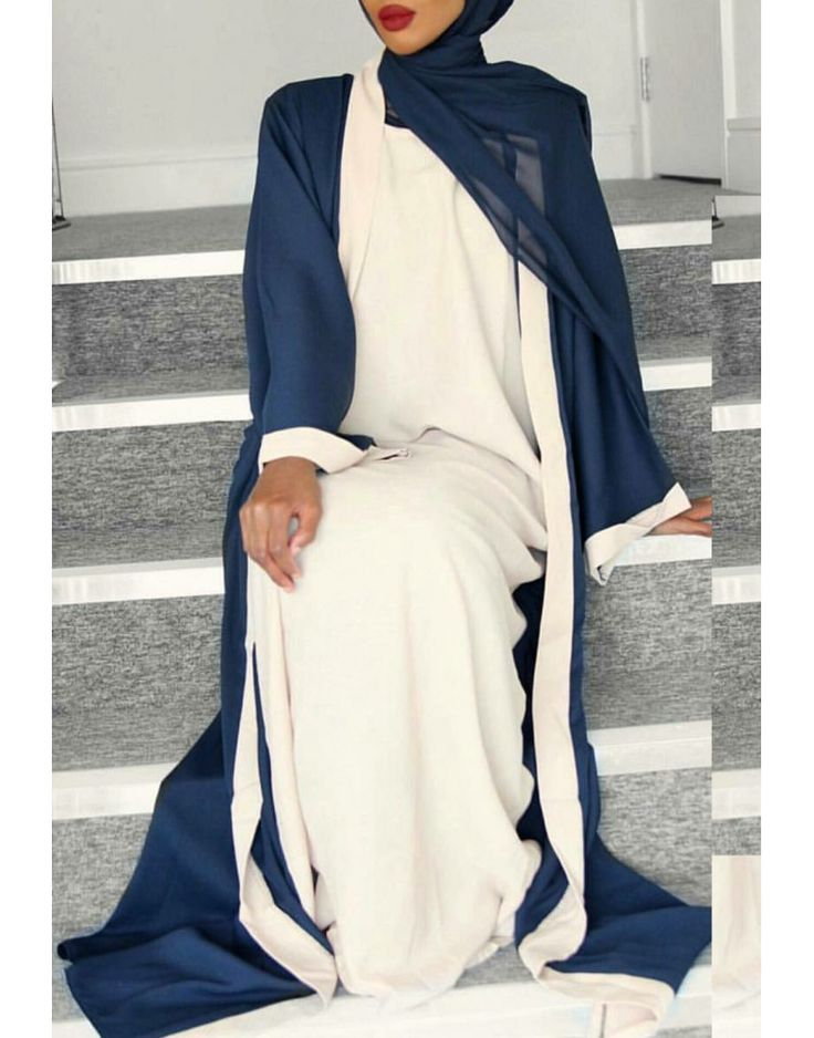 As seen on Basma K. A contemporary and modern style abaya that is incredibly versatile which can be worn for every occasion and function.