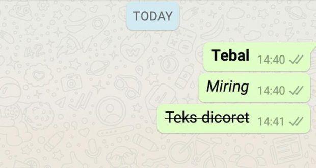 Cara Membuat Tulisan Tebal Miring Coret Di Whatsapp Cara Membuat Tulisan Menulis Huruf