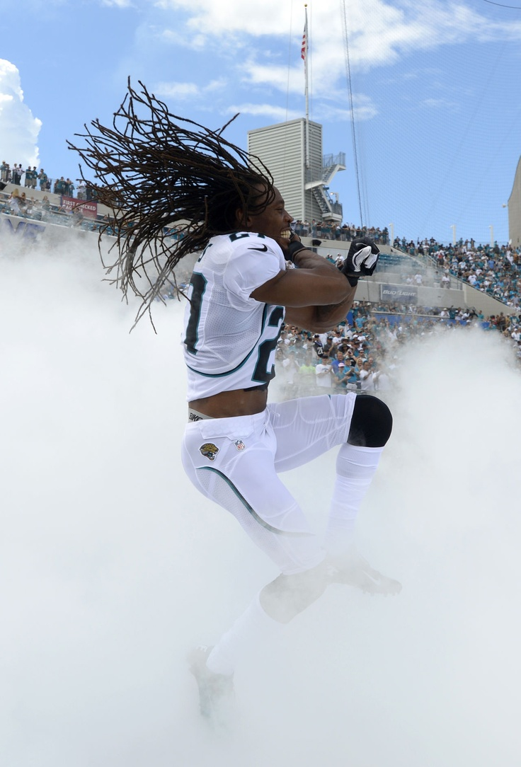 Jacksonville Jaguars Rashean Mathis  Jacksonville Jaguars cornerback Rashean Mathis (27) jumps through the smoke while being introduced prior to an NFL football game against the Houston Texans in Jacksonville, Fla., Sunday, Sept. 16, 2012.(AP Photo/Phelan M. Ebenhack)