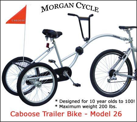 Two Wheeled Tandem Trailer Bike Google Search Vi Tips