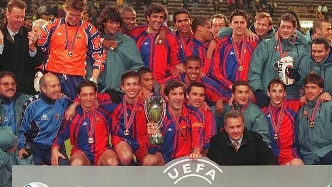 The Fanatic brings you #FanaticFact!  The current Manchester United, Chelsea Football Club, Barcelona and FC Bayern München managers all worked together at FC Barcelona from 1997-2000.  #Fact #DidYouKnow #Football #Sports