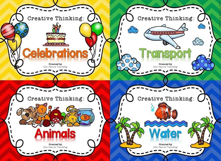 Creative and critical thinking project ideas