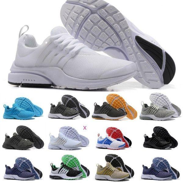 Nike Presto Running Damen Laufschuhe schwarz