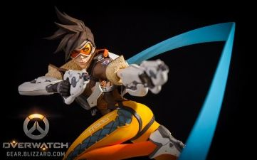 Tracer Overwatch figure   http://gear.blizzard.com/index.php/default/overwatch-tracer-statue.html
