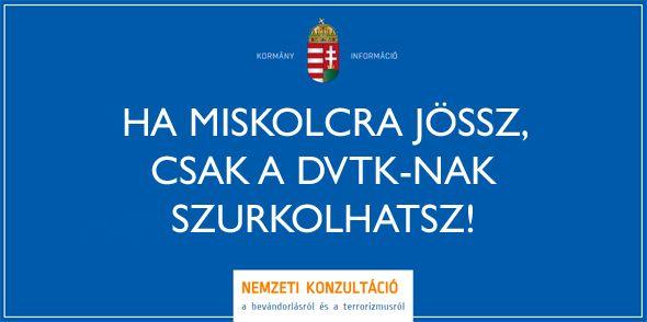 Itt a miskolci plakátkampány #miskolc #dvtk