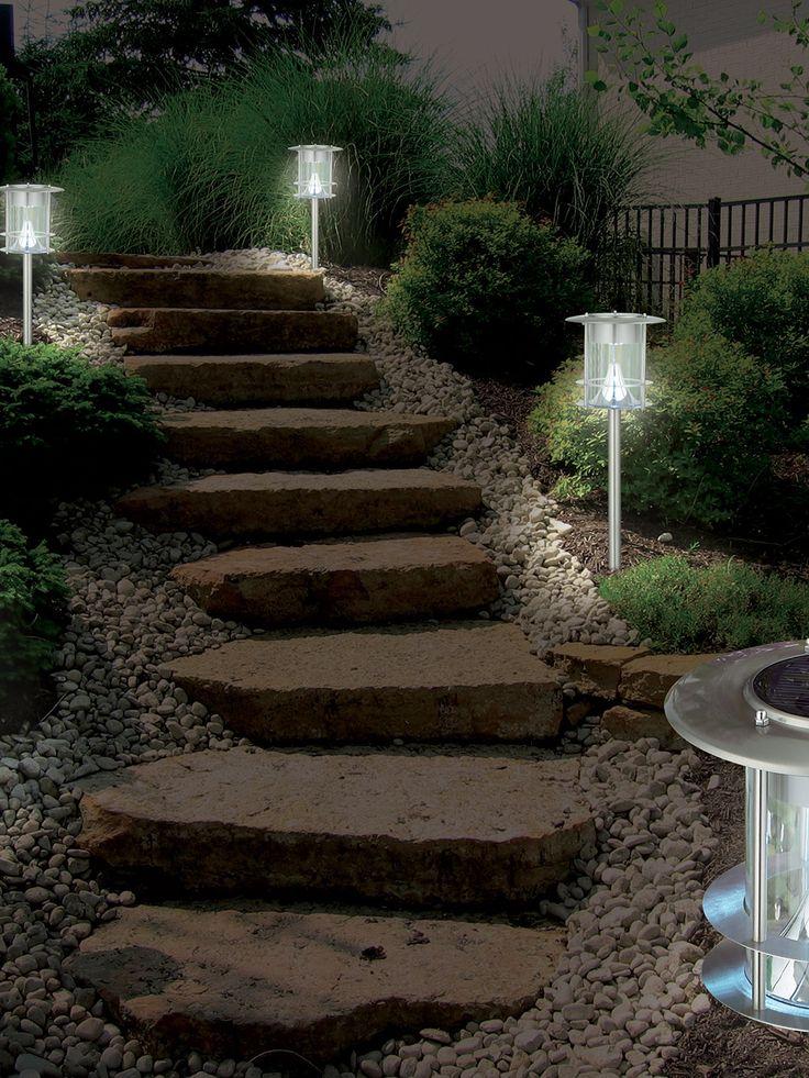 Modern Solar Path Light by BTR Lighting at Gilt21 best backyard lighting images on Pinterest   Backyard lighting  . Modern Solar Garden Lighting. Home Design Ideas