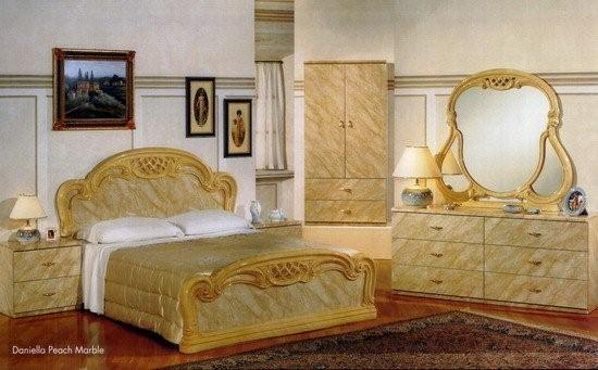 the price is for 8 piece queen bedroom set consist of headboard footboard rails 2 night