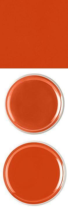 Rachael Ray Salad Plates. Rachael Ray Dinnerware Rise Collection 4-Piece Stoneware Salad Plate Set, Orange.  #rachael #ray #salad #plates #rachaelray #raysalad #saladplates