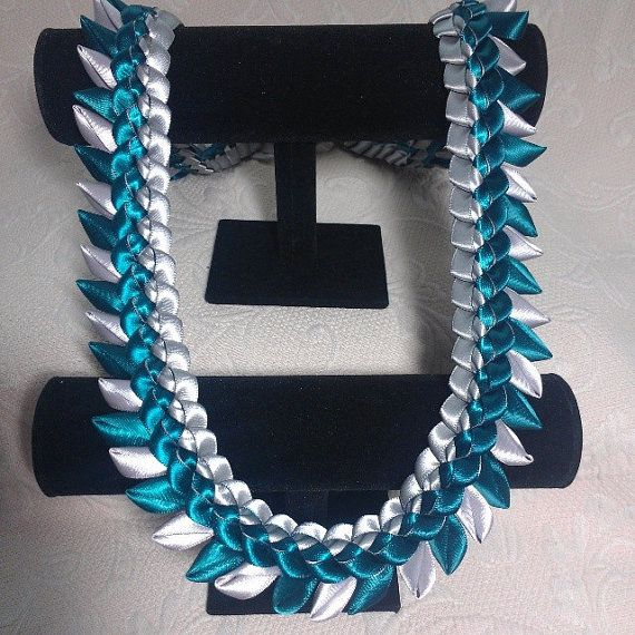 Ribbon Lei Lawakua by melokiadesigns on Etsy