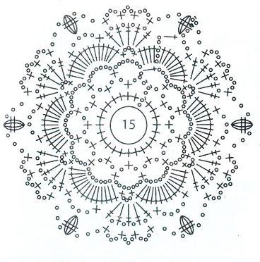 ирландское кружево схемы мотивы