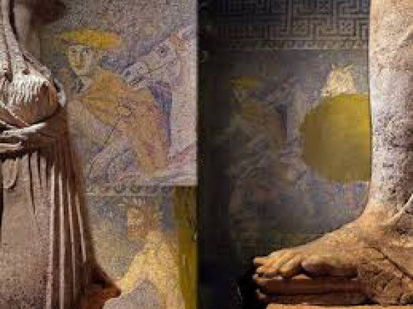 ΛΑΓΚΑΔΑΣ: Αμφίπολη. Παρουσιάστηκε νέο εύρημα που απεικονίζει τον Μ. Αλέξανδρο (ΦΩΤΟ)