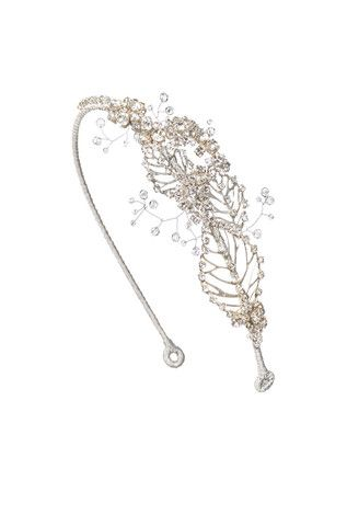 Lazuline Headdress I Crystal Silver