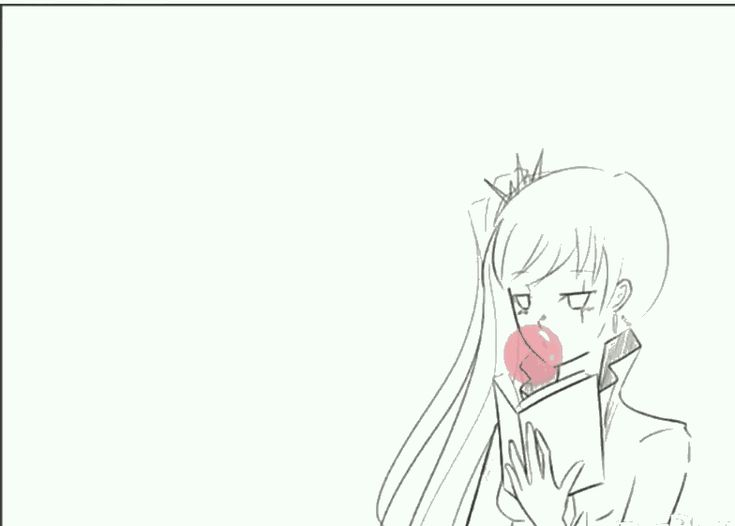 #rwby, #whiterose so cute Rwby, White Rose Ruby Rose x Weiss Schnee
