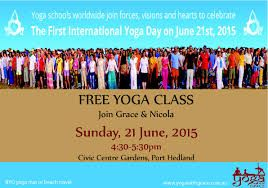 Image result for international yoga day 2015