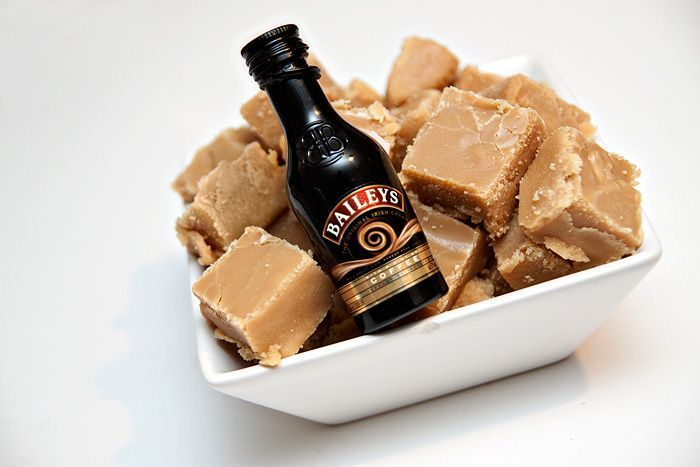 Homemade Microwave Baileys Fudge - 14 ounces Condensed Milk 5 ounces Butter 8 1/2 ounces Caster Sugar 8 1/2 ounces Soft Brown Sugar 1 1/2 teaspoons Vanilla Extract 2 tablespoons Baileys