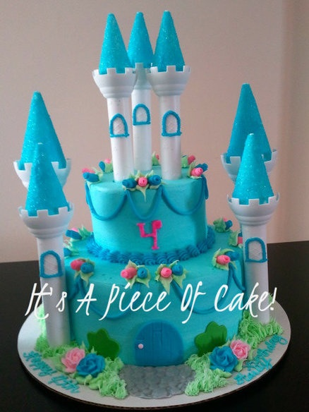 Castle Cake for Princess Kennedy
