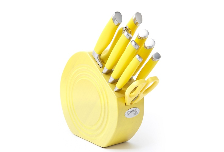 FIESTA 11-Pc Cutlery Set, Sunflower >> I really, really want this! $79