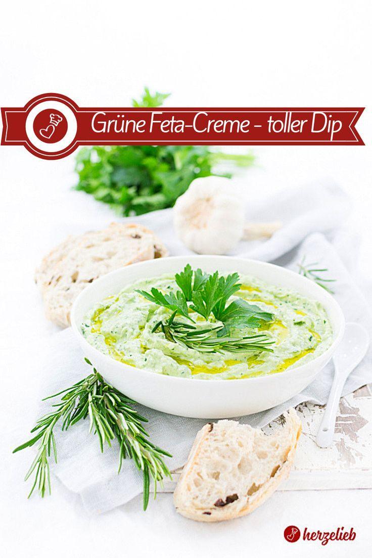 Mediterrane Feta-Creme Rezept – Toller Dip zum Grillen oder zum Brot