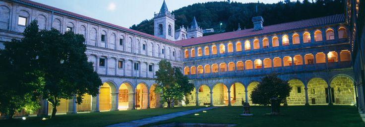 O Mosteiro de Santo Estevo de Ribas de Sil.