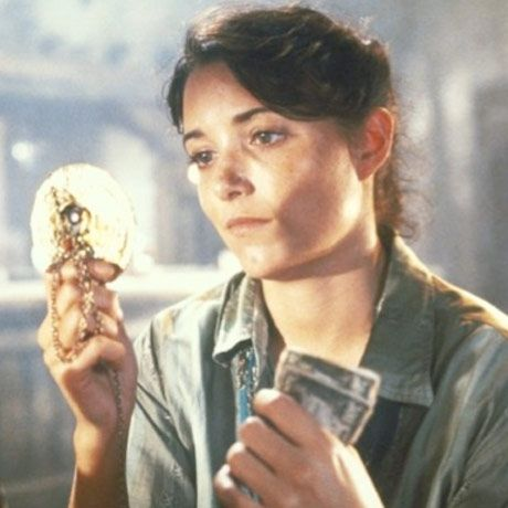 """In the 1981 film, """"Raiders of the Lost Ark,"""" Karen Allen helped Harrison Ford search for the Ark of the Covenant."""