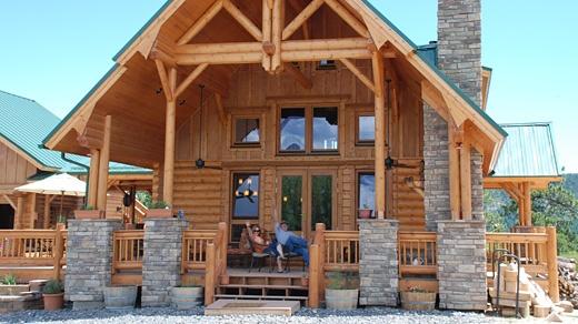 Honka Log Home Colorado