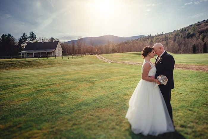 Vermont Wedding at Amee Farm in November   Mountain ...