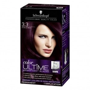 Schwarzkopf Color Ultime Permanent Hair Color Cream 3 3 - Live Haarfarbe Lila